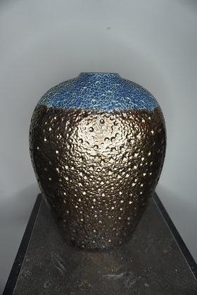 Brown/Blue Vase
