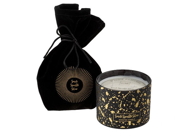 Scented Candle Midnight Magic Black/Gold Large-30h