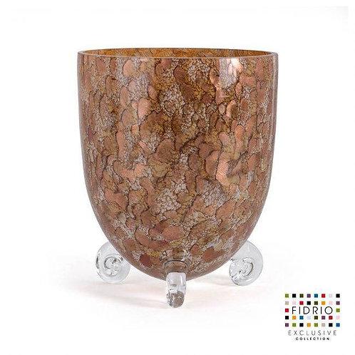 Fidrio - Vase Escargot GOLD