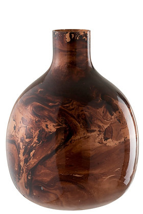 Vase Marge Glass Shades Of Brown