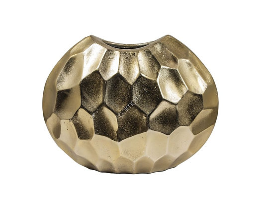 Golden vase oval