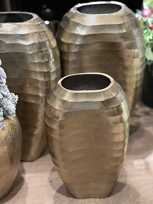 Florero bronce crudo