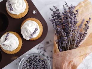 Lavender Cupcakes!