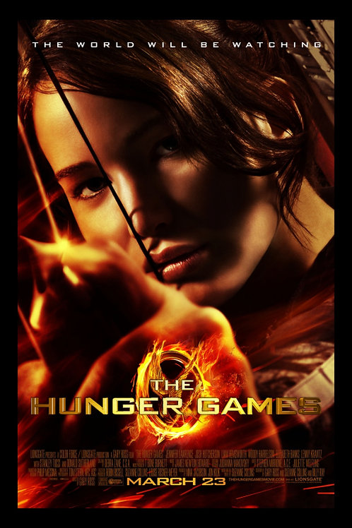 SINGLE FILM - Seeing Red at the Movies - The Hunger Games- July 2nd