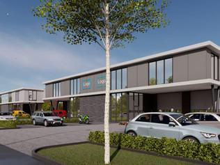 Start bouw luxe bedrijfsunits Bodegraven