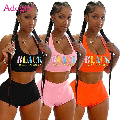 Black Girl Magic 2 Piece set