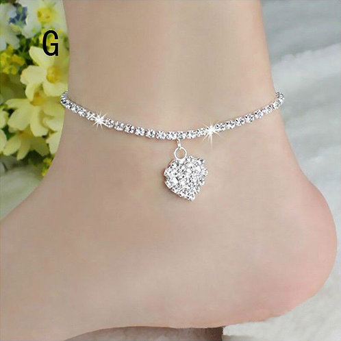 Diomedes Diamond Anklet