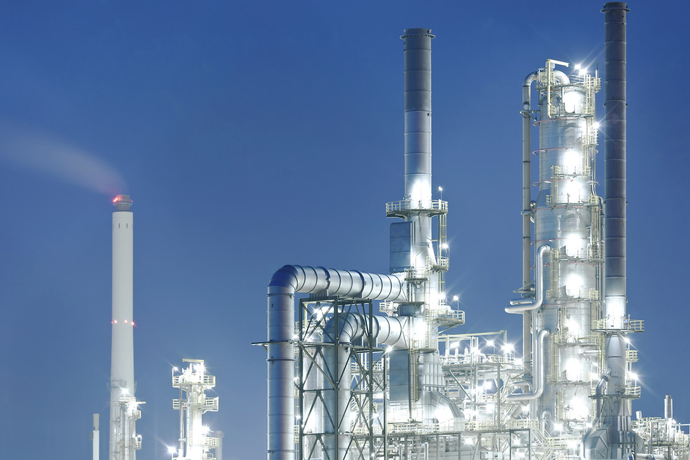 Symbolbild Chemiefabrik