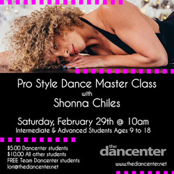 Master Class with Shonna