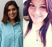 Prop. Mtría. Juana Quintero Ramos  y Prop. Mtría. Clarisa O. Gutierrez Antiyón
