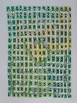 YELLOW GREEN COSMIC UNIVERSE