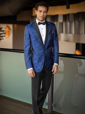 Mark of Distinction Blue Tuxedo