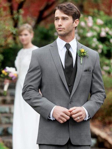 Stephen Geoffrey Grey Suit