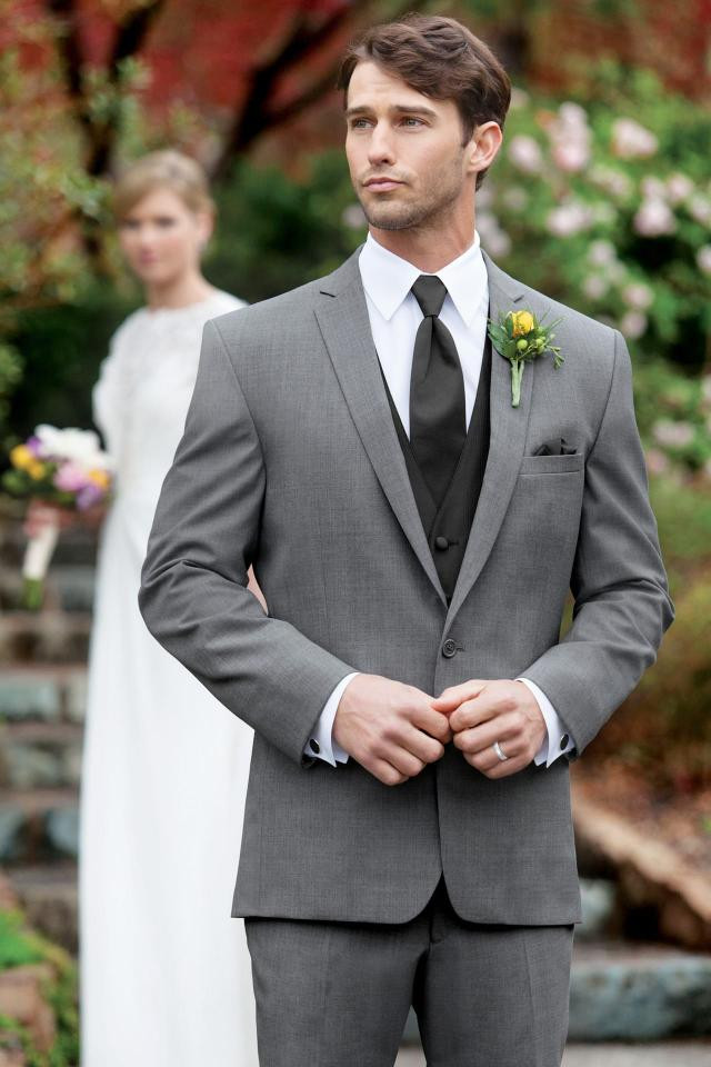 Stephen Geoffrey Grey Suit