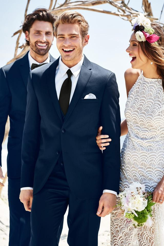 Michael Kors Navy Suit