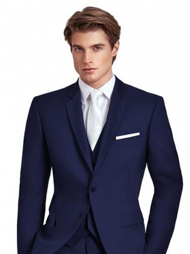 Ike Behar Navy Suit