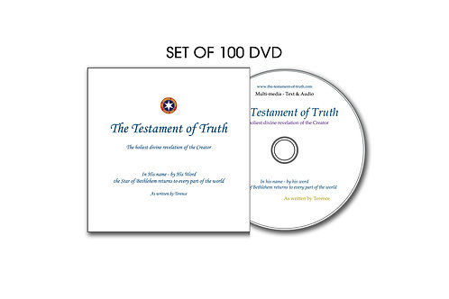 The Testament Of Truth  Set of 100 DVD