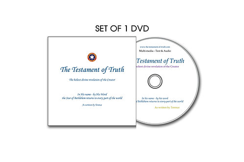 The Testament Of Truth  Set of 1 DVD