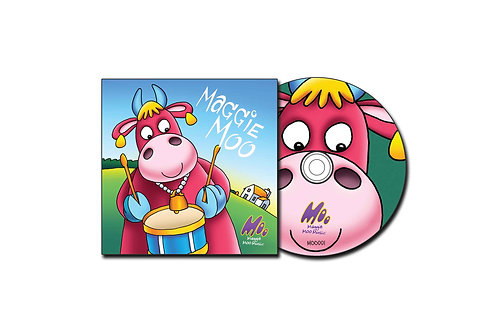 Maggie Moo - Set of 250 CD