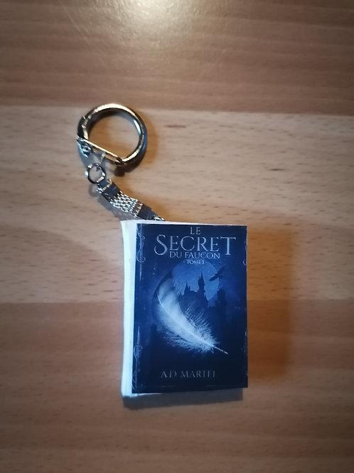 """Porte-clés """"Le secret du faucon"""""""