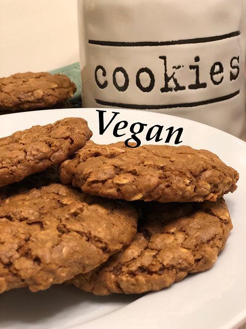 Vegan Caramel Oatmeal 1/2 Dozen