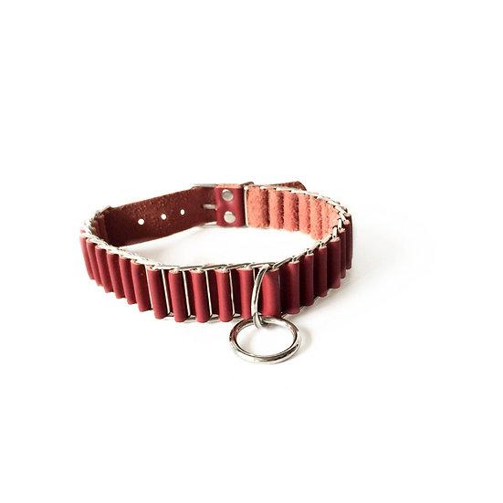 Ribbon Leather Collar