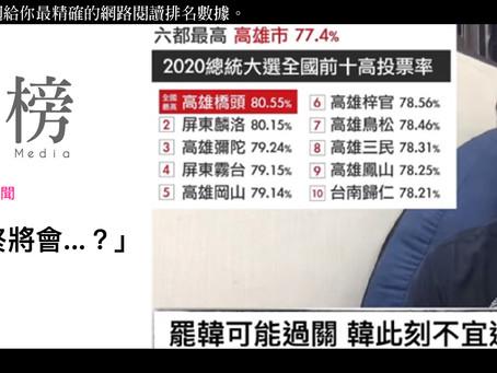 上週國內最關注新聞:「韓國瑜罷免案最終將會...?」