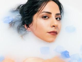 One of a Kind in NYC Milk Bathtub Photoshoot