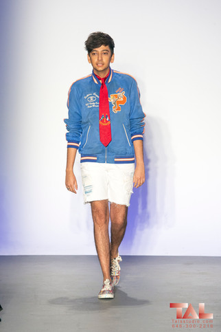 The 3rd Annual Blue Jacket Fashion Show