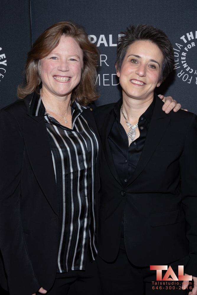 Kathryn Hamm and Amy Walter