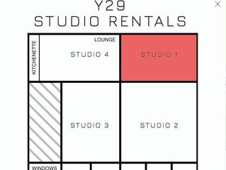 Y29 Studio $25 Hr