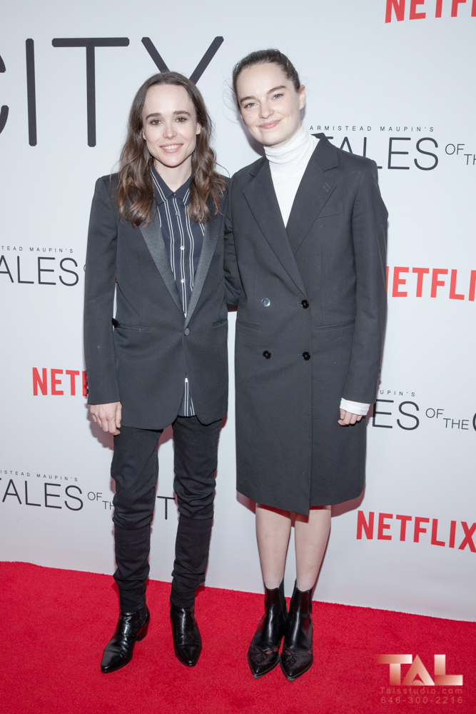 Ellen Page and Emma Portne Tales of the