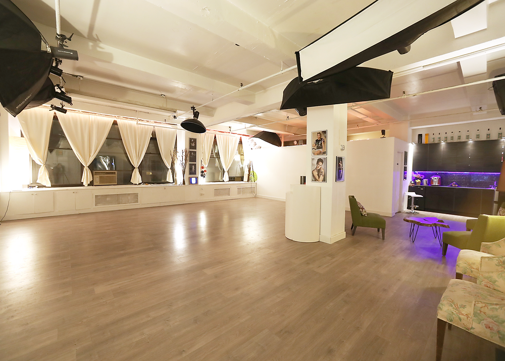 (646) 300-2216 Tal's Studio is anopen loft spacewith an artistic look, perfect forintimate gatherings.The spacecan accommodate up to100 guests, making it perfect for private socialevents and corporate gatherings. We are equipped to host a variety of different events and will work with you toensure that your event runs smoothly.  2 Hours - $350 4 Hours - $650 8 Hours - $1,300 Dimensions: 35' x 45' x 14'  Fits Up to 100 Guests 2 Hour Minimum Intimate Lighting Access to Lounge & Kitchenette Amenities Include: Wifi, Speakers, TV, Projector, Wireless Mics Extra - Tables and Chairs Available*  Extra - Karaoke Package* www.talsstudiorental.com/