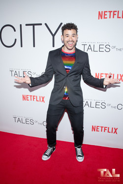 Dickie Hearts Tales of the city premiere