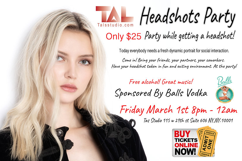 Headshots Party