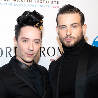 Johnny Weir (L) and Nico Tortorella At the 2019 Emery Awards Awards By Yoni Levy