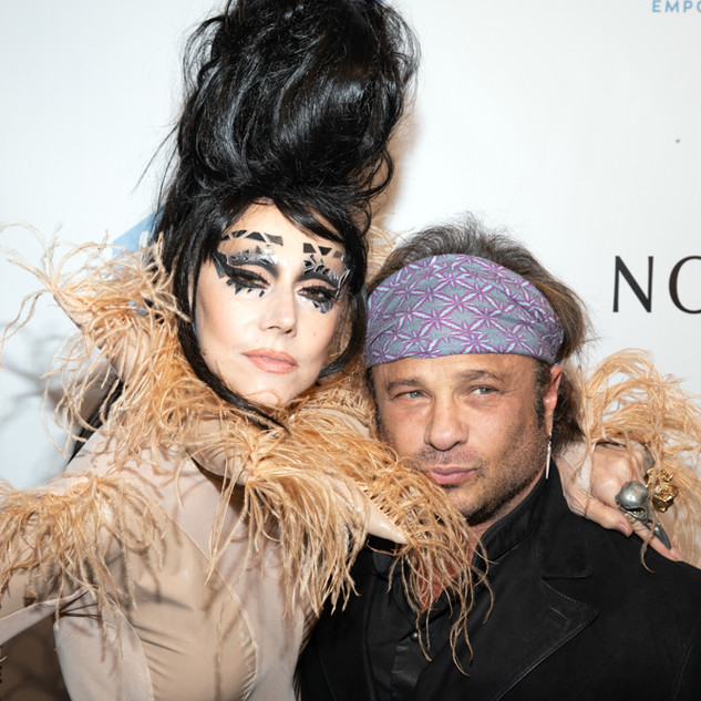 Susanne Bartsch and David Burton At the 2019 Emery Awards Awards By Yoni Levy