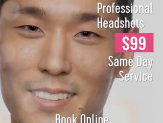 NYC photography studio offering $99 same day headshots: Tals Studio