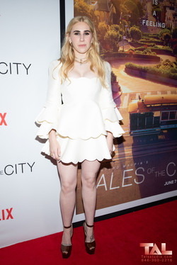 Zosia Mamet  Tales of the city premiere