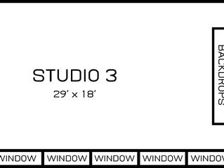 Photography Studio for Rent | Studio 3