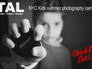 NYC Kids summer photography camp