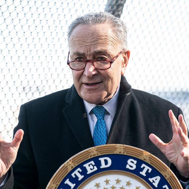 Senator Chuck Schumer urges upcoming Biden