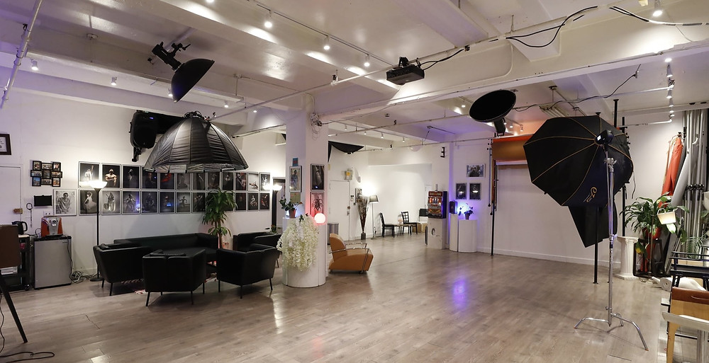 Gorgeous Fashion Photo Studio Available for $60  www.talsstudiorental.com/studio-1 646-300-2216 Tals Studio 2, a newly renovated state-of-the-art studio in the heart of Chelsea is perfect for photographers looking to impress their clients with a gorgeous studio. Illuminated by 3 large windows facing south, this stunning studio is perfect for up to 10 people, allowing you plenty of space to shoot with multiple clients at a time, use the space for larger creative projects, and even have space to bring assistants and other crew members on board. Additional Lighting Equipment Packages and Prop Packages available. Dimensions: 18' x 18' x 14' HOURLY RATE : $60/Hr