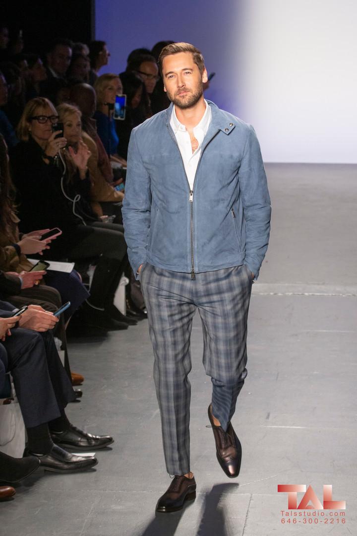The 3rd Annual Blue Jacket Fashion Show.