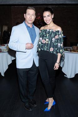 Kim Maresca and & Stephen Baldwin