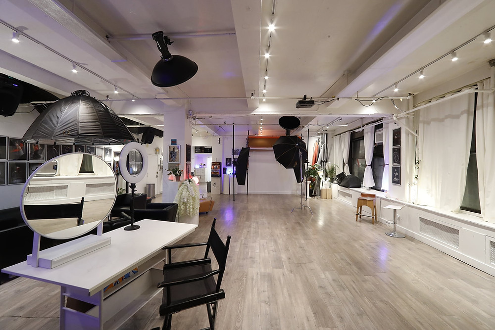 Beautiful high end studio space available for event rental in the heart of Chelsea, Manhattan NYC. We are open, taking COVID19 precautions, and more than happy to accommodate to all your needs! Give us a call and book today! https://www.talsstudiorental.com/all-studios  646-300-2216  Studio 1 package: 11'x15' 4 guests welcome $25 hourly Amenities: -Equipment rental available-3 color backdrops www.talsstudiorental.com/studio-1 Studio 2 package: 18'x18' 10 guests welcome $60 hourly Amenities: -natural lighting -wifi -equipment rental available-3 color backdrops www.talsstudiorental.com/studio-2 Studio 3 package: 35'x18' 20 guests welcome $95 hourly Amenities: -natural lighting -wifi -27' IMac with photoshop & lightroom included -equipment rental available-3 color backdrops www.talsstudiorental.com/studio-3 Studio 4 package: 45'x35' 40 guests welcome $150 hourly Amenities: -natural lighting -lounge and full kitchenette -wifi -bluetooth speakers -27' IMac with photoshop and lightroom included -equipment rental available-9 color backgrounds https://www.talsstudiorental.com/studio-4 We look forward to hosting you soon!