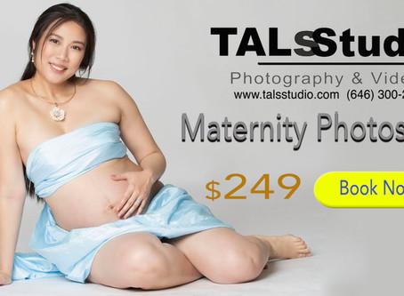 $249 Maternity Photoshoot