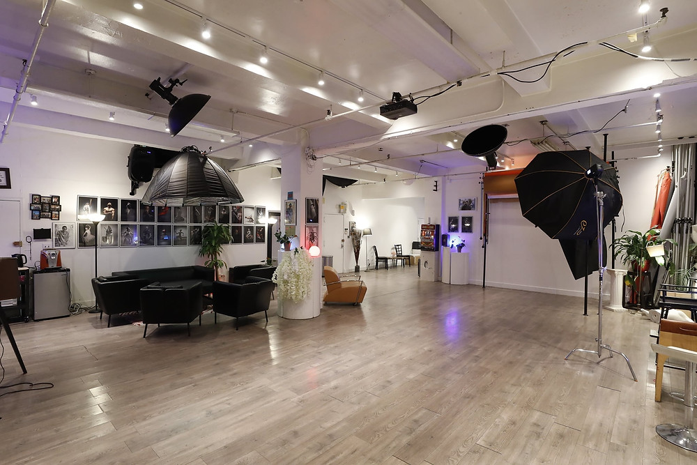 www.talsstudiorental.com/studio-3   646-300-2216   Tals Studio 3, a newly renovated state-of-the-art studio in the heart of Chelsea is perfect for photographers looking to impress their clients with a gorgeous studio. Illuminated by 5 large windows facing south, this stunning studio is perfect for up to 20 people, allowing you plenty of space to shoot shoot multiple clients at a time, use the space for larger creative projects, and even have space to bring assistants and other crew members on board. Additional Lighting Equipment Packages and Prop Packages available.   Dimensions: 29' x 18' x 14'  HOURLY RATE : $95/Hr