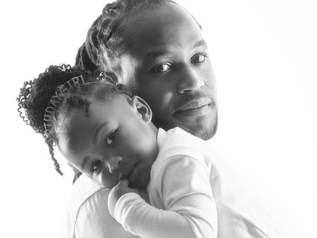 Father & Daughter Photoshoot in NYC Studio