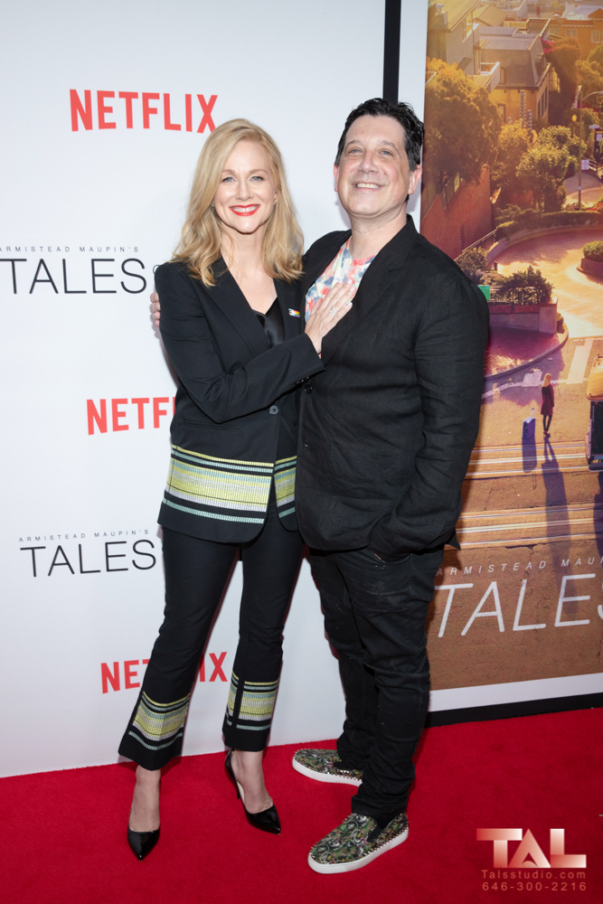 Laura Linney and Andrew Stearn Tales of